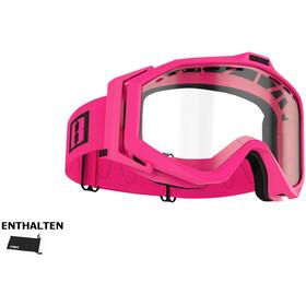 Bliz Edge Drop Okulary, matte pink/clear